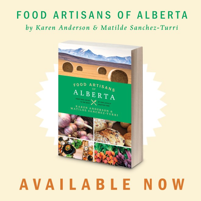 Food Artisans of Alberta book launch announcement