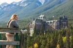 Banff_Sightseer enjoying a view of the Fairmont Banff Springs Hotel from_Surprise_Corner_photo courtesy of Fairmont_Banff_Springs_Hotel_Paul_Zizka_1_Horizontal (1)