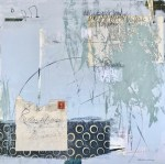 Canada Post 1939 - an abstract painting by Louise Savoie
