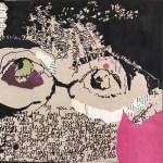 Louise Savoie - self-portrait