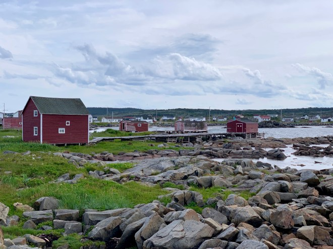 Red Sheds at Joe Batt's Arm - photo by Karen Anderson