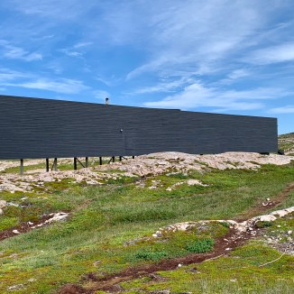 Long Studio, Fogo Island Arts - photo by Karen Anderson