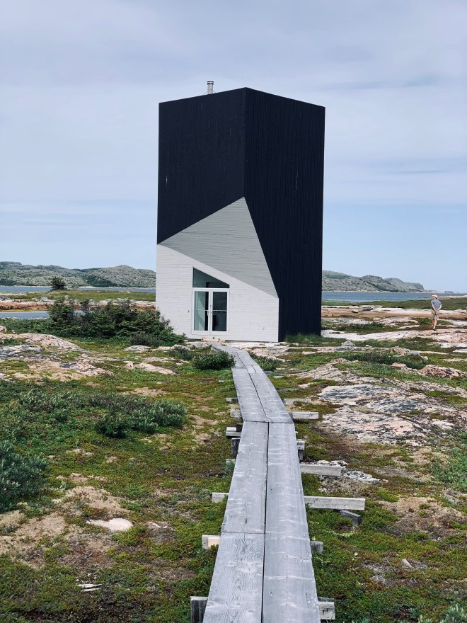 Tower Studio, Fogo Island Arts - photo by Karen Anderson