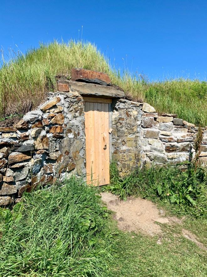 Newfoundland root cellar - photo by Karen Anderson