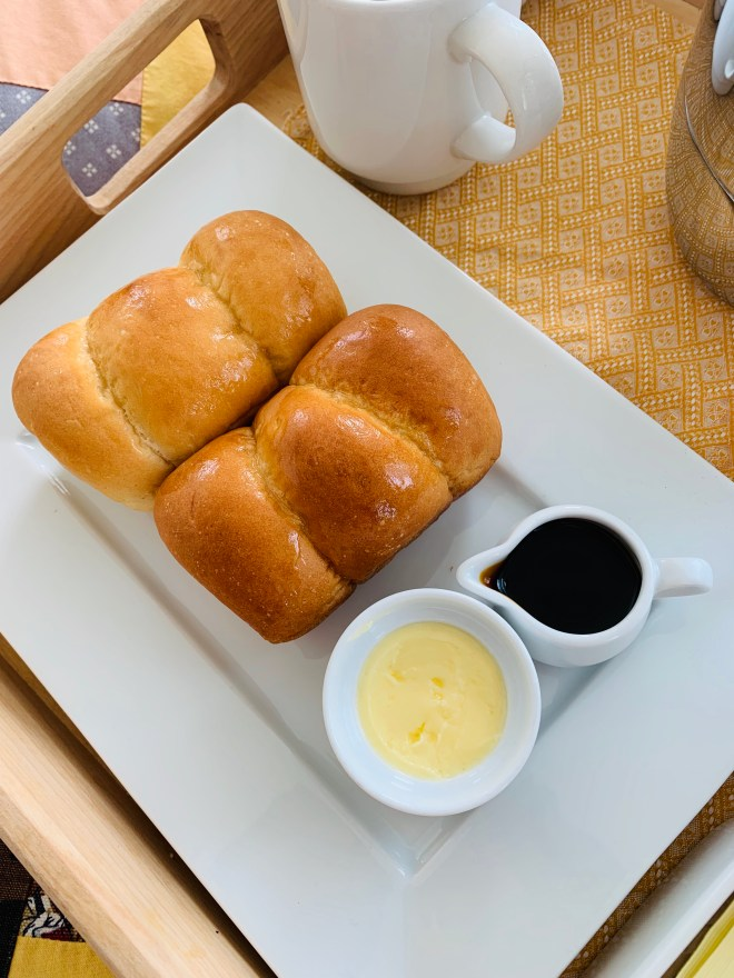 Bread, butter and molasses - photo by Karen Anderson