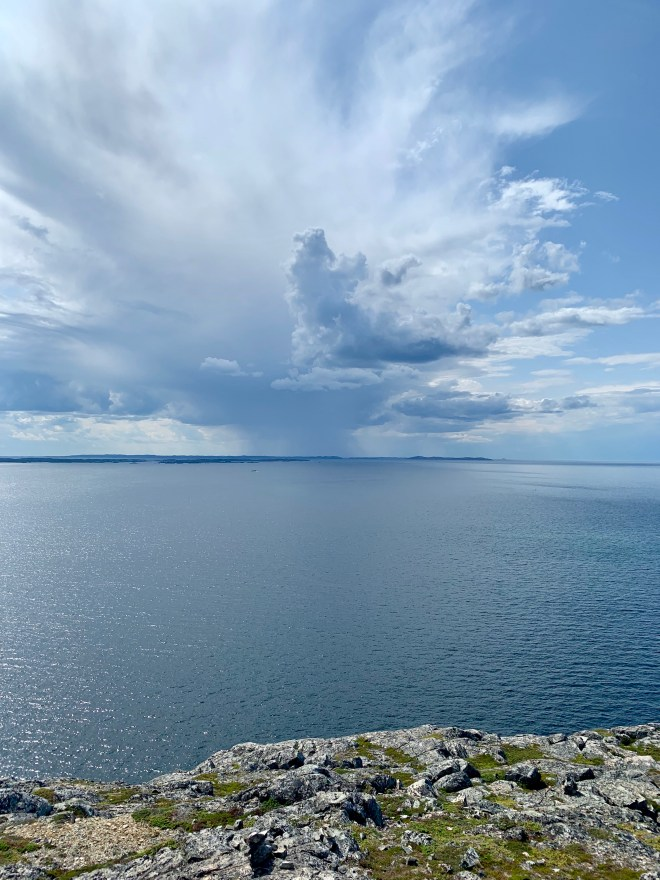 North Atlantic sky - photo by Karen Anderson