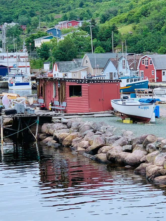 The docks at Petty Harbour, NL