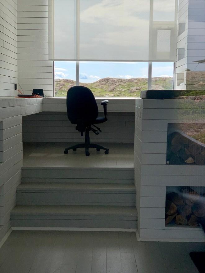 Interior of Bridge Studio