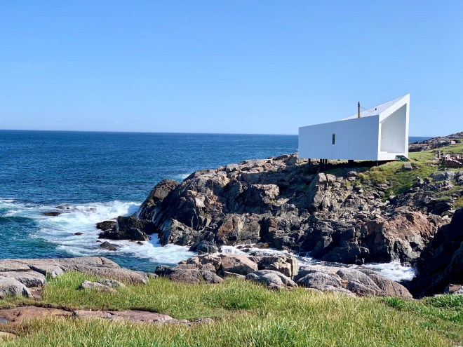 Squish Studio, Fogo Island, NL - photo by Karen Anderson