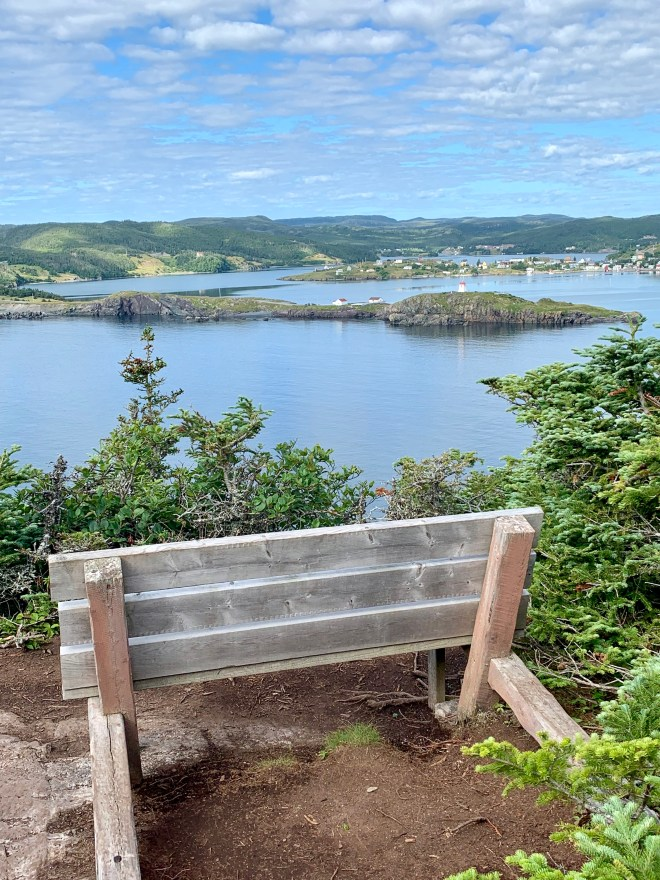 View to Trinity Harbour, NL
