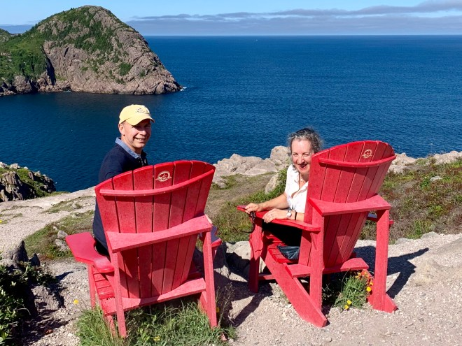 Views from Signal Hill, St. John's, NL - photo by Karen Anderson