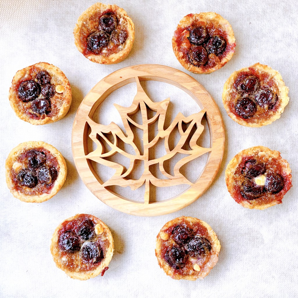 Bing Cherry Butter Tarts - grouping