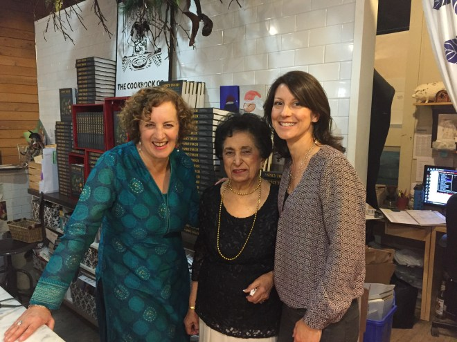 Karen Anderson, Noorbanu Nimji and Pauli-Ann Carriere