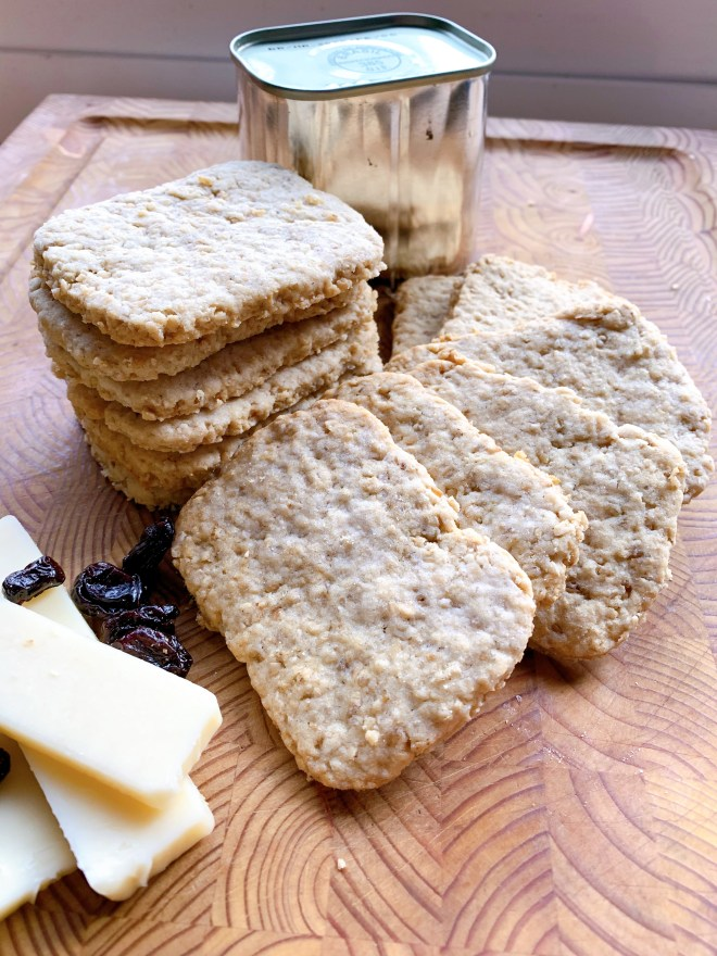 Elizabeth Beaton's Oatcakes - with special cutting tin