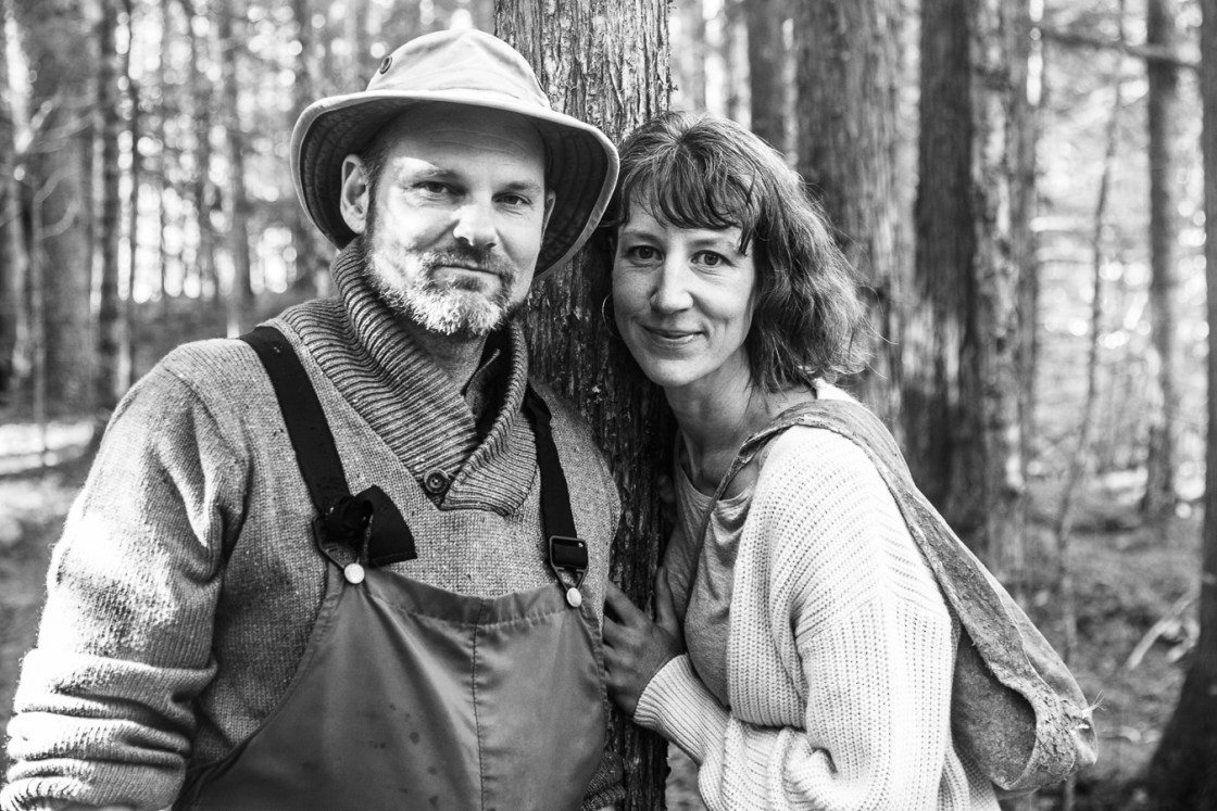 portrait ofMichelle and Eric Whitehead of Untamed Feast