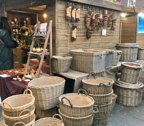 From baubles to baskets, an interesting mix of wares on every stall