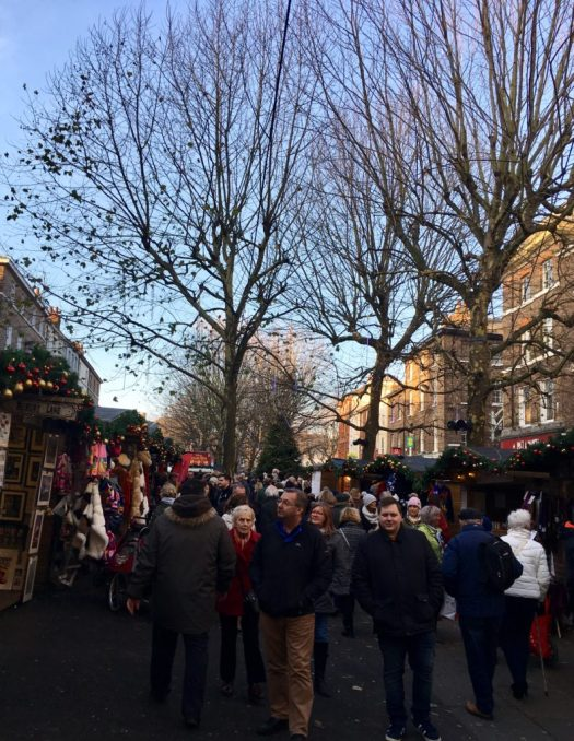 Crowds flock to the Vity of York for the Saint Nicholas Fair