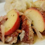 Throwback Thursday: Spiced Pork Tenderloin w/ Sauteed Apples