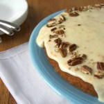 Spaghetti Squash Cake w/ Cream Cheese Glaze + GIVEAWAY! (closed)