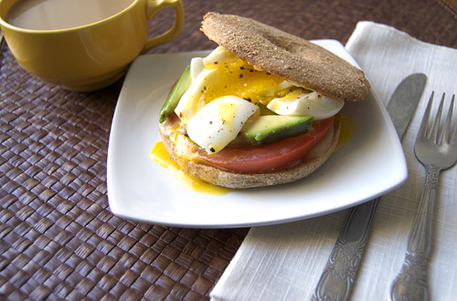Soft Boiled Egg Bagel Sandwich – Savour the Senses