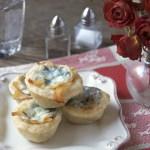 Bleu Cheese Chicken Tartlets