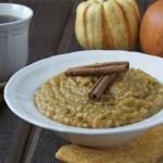 Maple & Squash Oatmeal