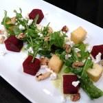 Beet & Apple Salad w/ Honey Cider Vinaigrette