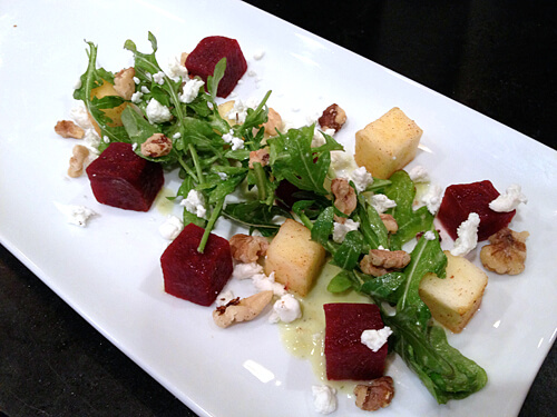 Beet-Apple-Salad-Dressed