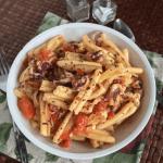 Calamari Casarecce with Herbed Tomato & White Wine Sauce