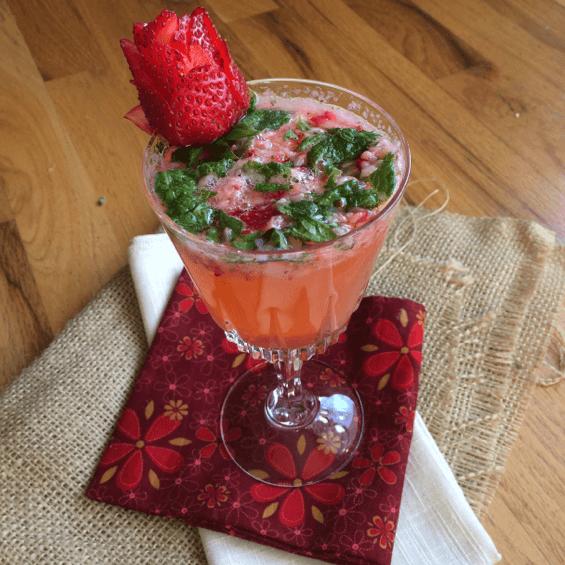 Strawberry Vodka Mojito