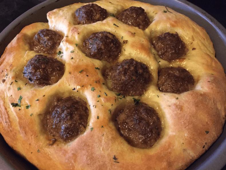 meatball-focaccia-bread