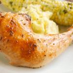 Simple Crispy Roasted Chicken