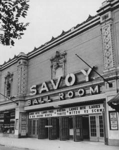 The beautiful Savoy Ballroom, New York city.