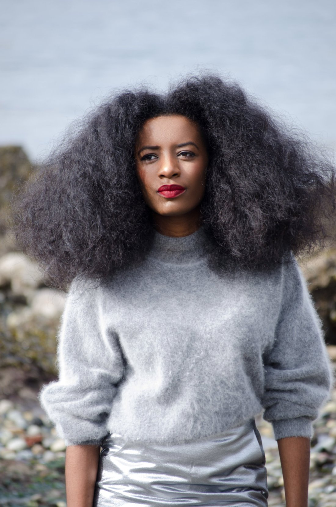 3 Easy Steps for a Natural Hair Blowout - Savvy and Beautiful