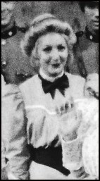 Hillary Miles as a Gibson Girl