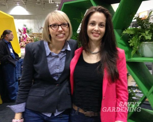 Niki and Tara of Savvy Gardening at Canada Blooms in 2014!