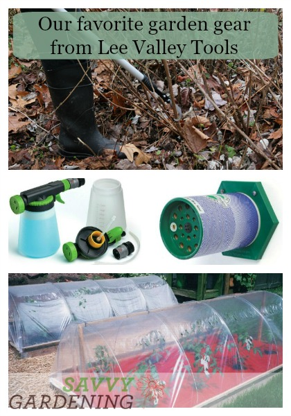 Here are some of the best tools for your garden from Lee Valley Tools.