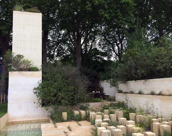 The M&G Garden at the RHS Chelsea Flower Show