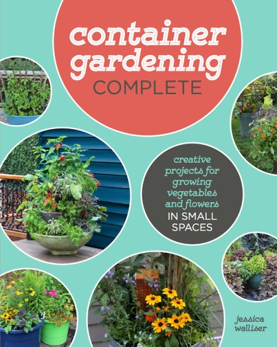 The best, most complete container gardening book on the market.