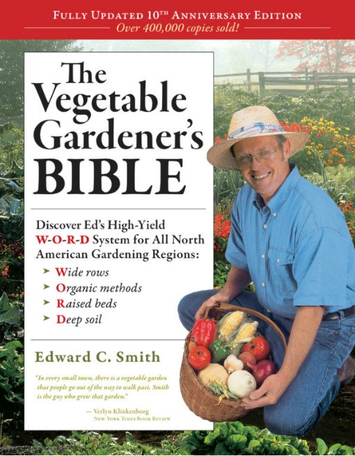 Get vegetable gardening tips from best-selling author, Edward C. Smith.