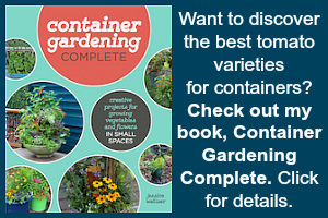 Book on growing tomatoes in containers