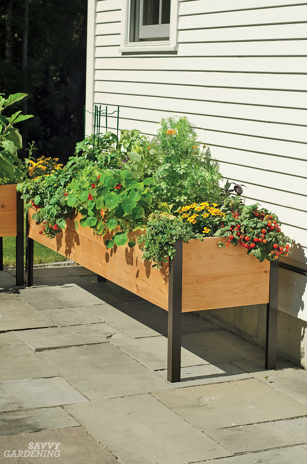 Raised Planter Boxes Need To Be Made Of Weather Resistant, Food Safe  Materials