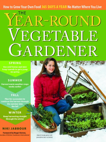 The Year-Round Vegetable Gardener is the guide to help you grow into winter.