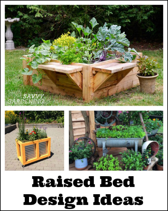 Raised bed designs for gardening: Inspiration, tips, and advice