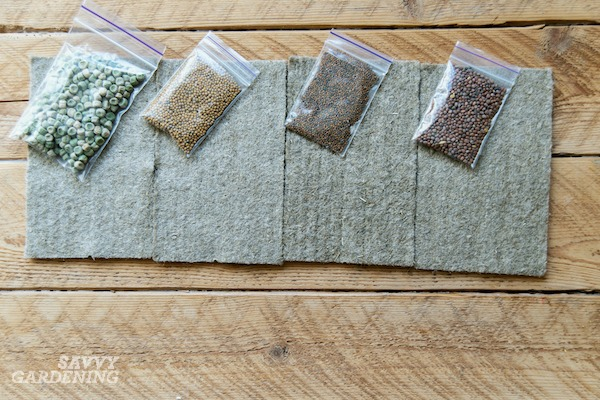 Learn how to grow microgreens using fiber grow pads.