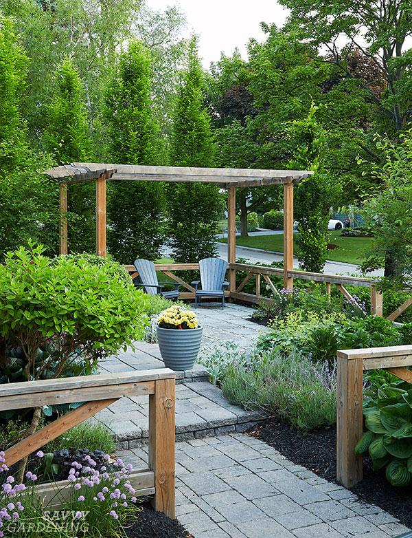Front garden design ideas: Add a patio