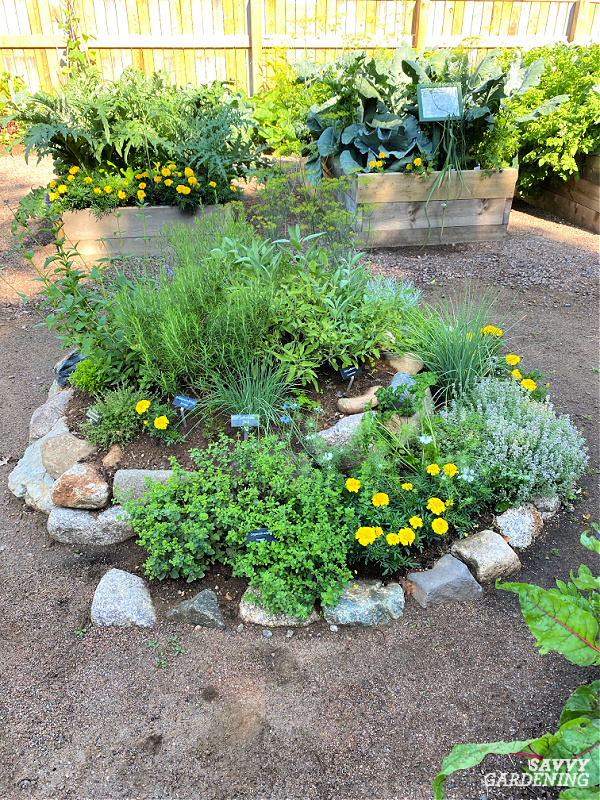 DIY herb spiral