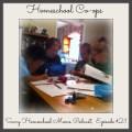 Homeschool Co-ops, Savvy Homeschool Moms Podcast