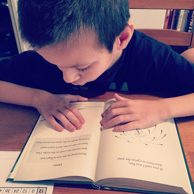 Reading practice - Beckie #Reading #AllAboutReading