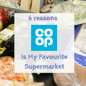 I was recently asked which supermarket I like best and this one came out top. Here are the 5 reasons Co-op is my favourite supermarket.